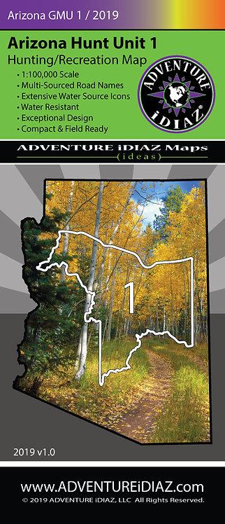 Arizona Hunt Unit 01 Map