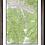"Thumbnail: BEAVER CREEK Colorado Topographic Keepsake Poster (24"" x 36"")"