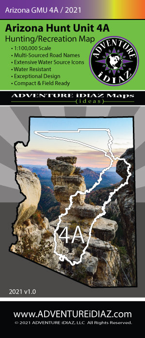 Arizona Hunt Unit 04A Map
