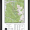 "Thumbnail: KEYSTONE Colorado Topographic Keepsake Poster (24"" x 36"")"