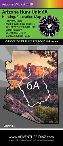 Arizona Hunt Unit 6A Map www.adventureidiaz.com