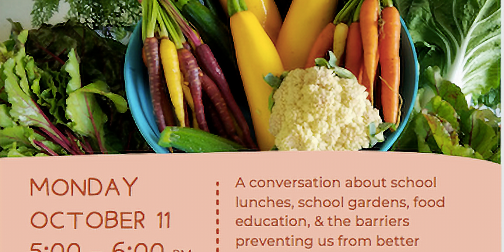 School Lunches & School Gardens: How Public Policy Plays a Role