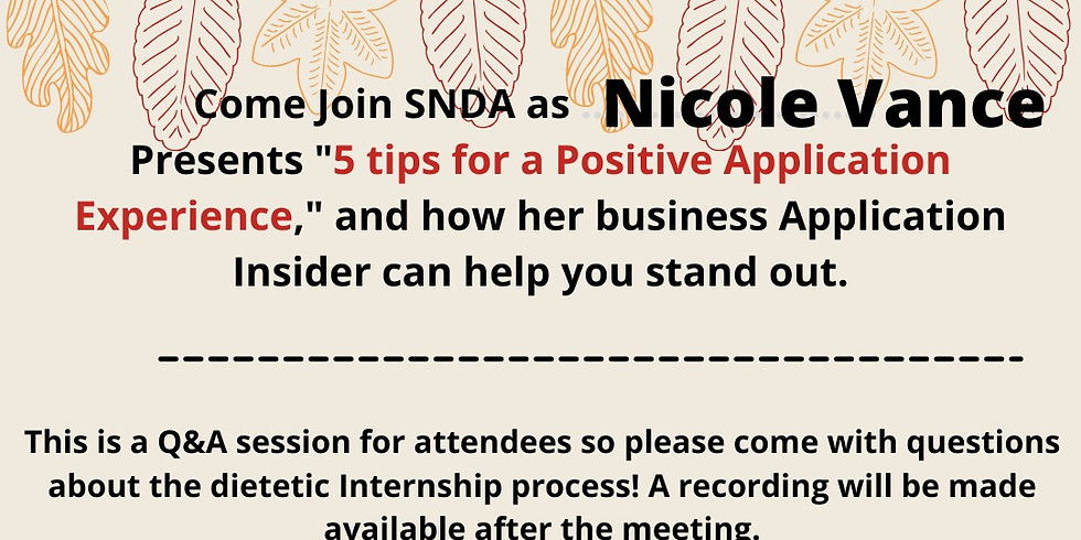 5 Tips For a Positive Application Experience with Nicole Vance