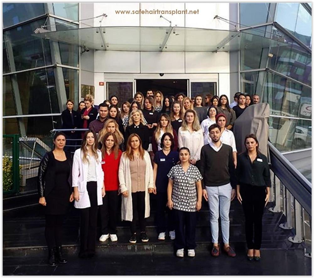 Beste haartransplantatie kliniek in Turkije 2019