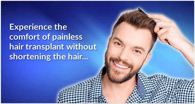 Hair Transplant Painless