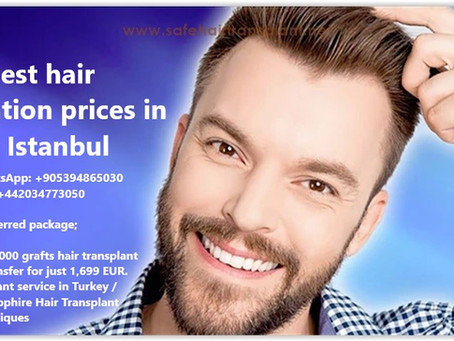 The Best hair transplantation prices in Turkey Istanbul