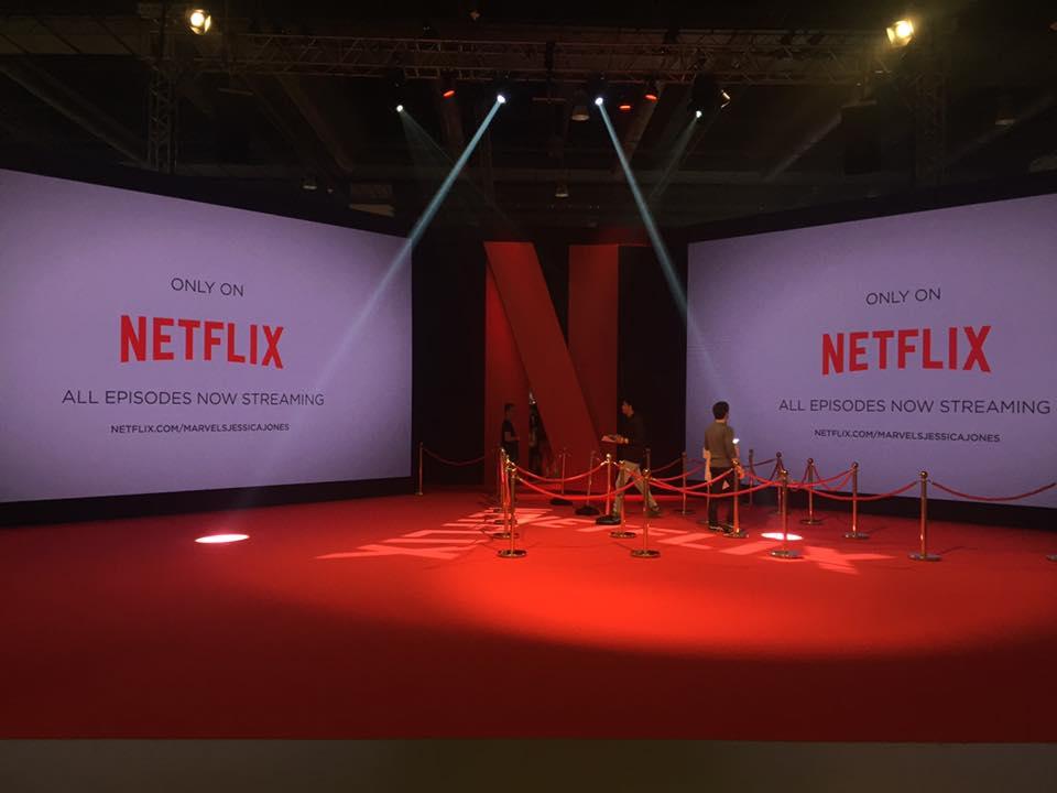 Netflix Entrance