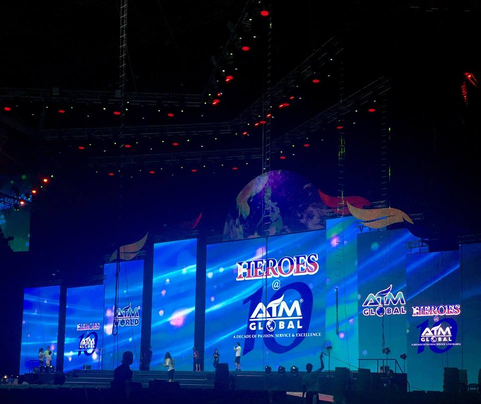 AIM Global 10th Anniversary _ Philippine Arena (May 29, 2016)