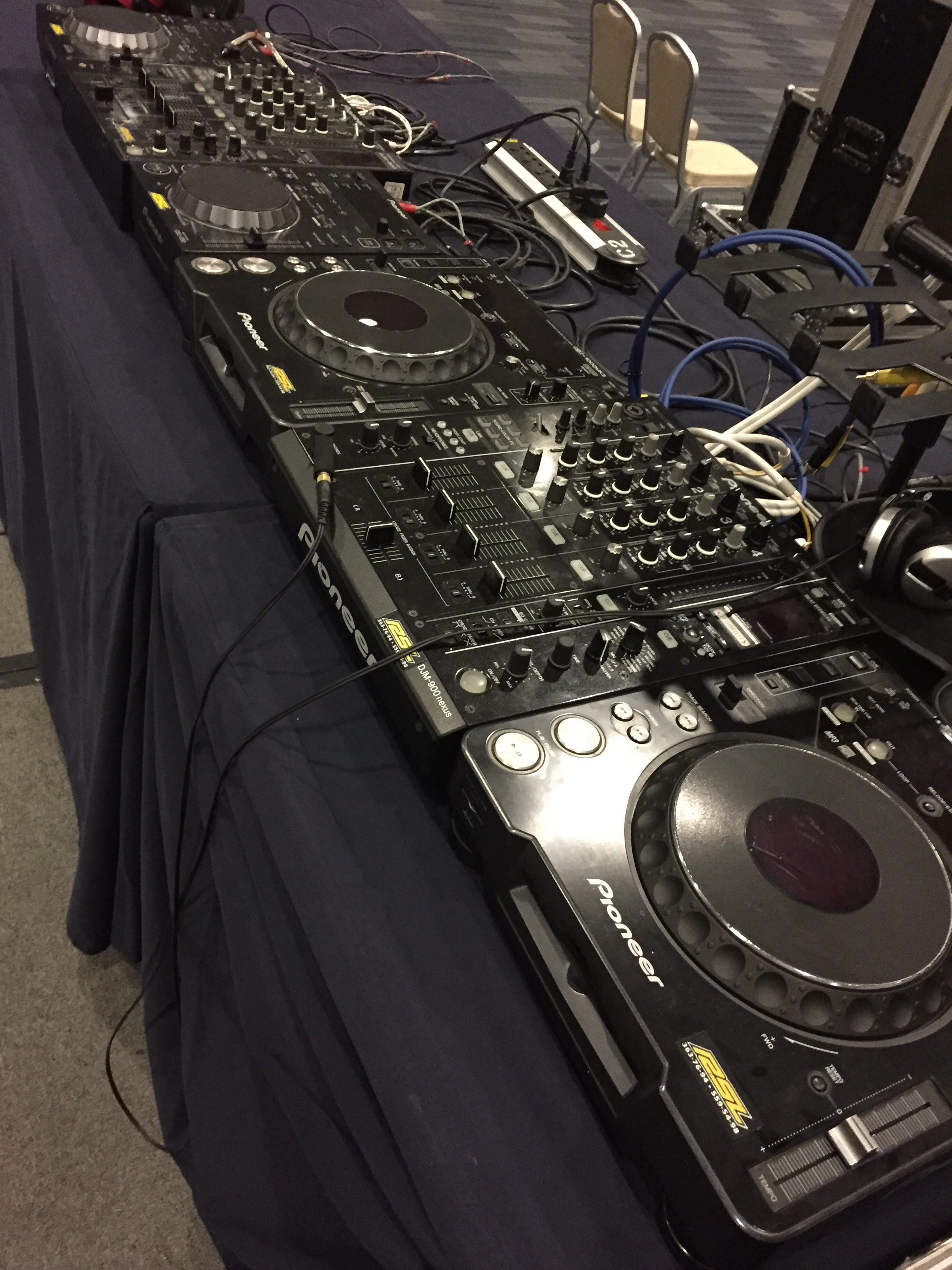 Pioneer DJ Set-up