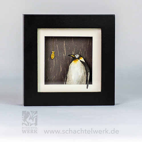 "Rahmen mit Pinguin ""Piet"""