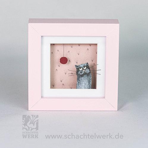 """Rahmen mit Katze """"Mauz"""""""