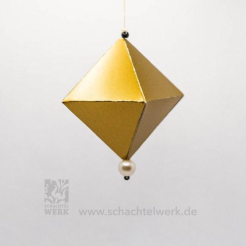 Oktaeder gold