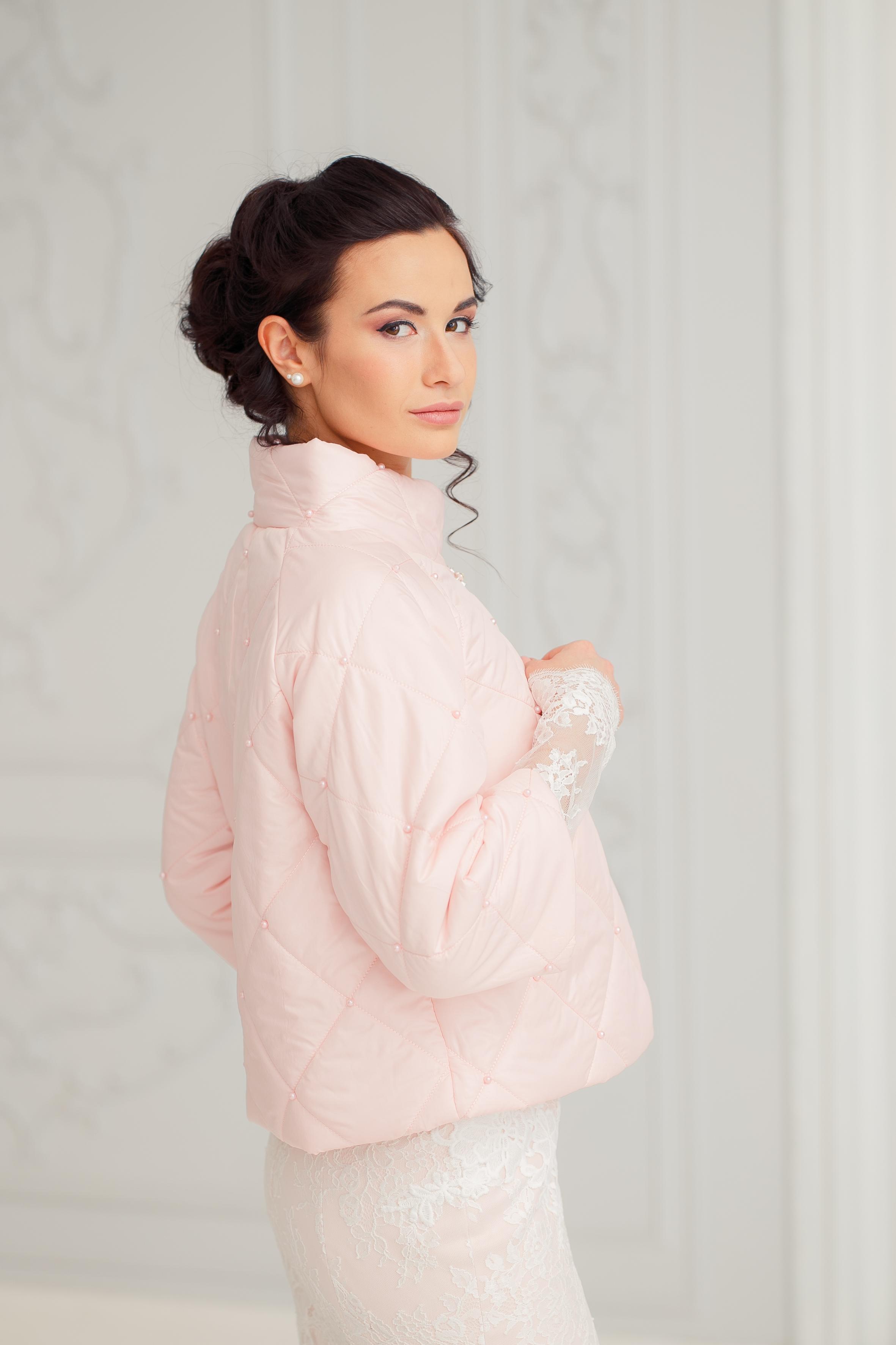Мадина(курточка на розовом синдепоне
