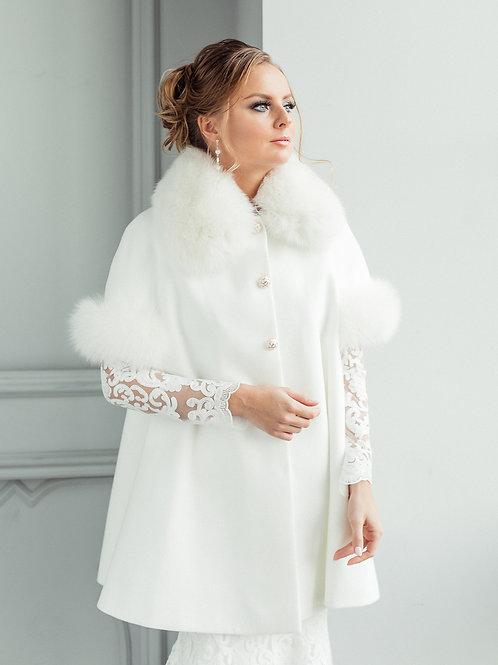 Свадебное пальто Оксана