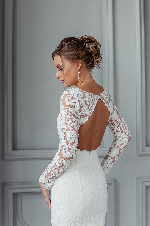 Кружевное свадебное платье Августа