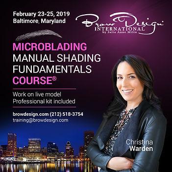 Microblading Certification Baltimore, Maryland