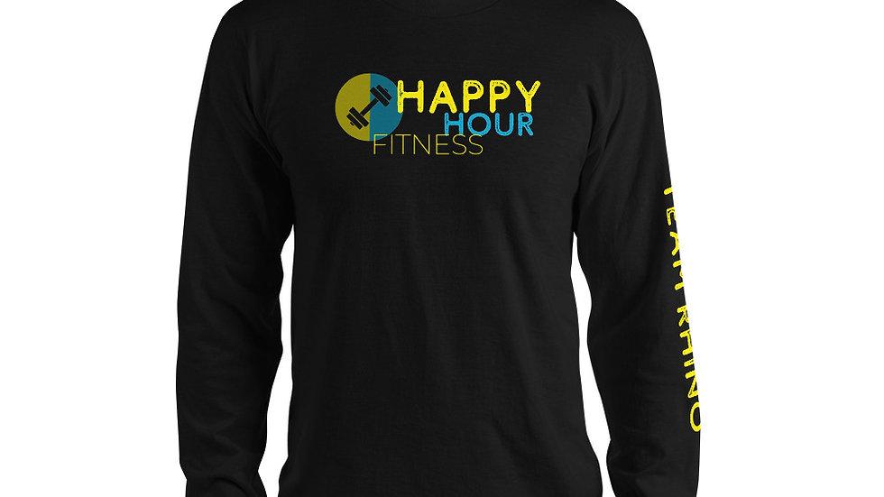 HAPPY HOUR FITNESS - Long sleeve t-shirt (unisex)