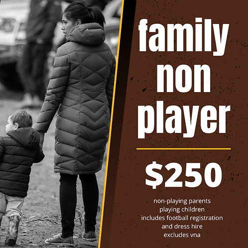 2021 FAMILY NON PLAYING PARENT MEMBERSHIP