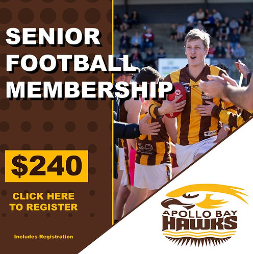 2020 SENIOR FOOTBALLER MEMBERSHIP