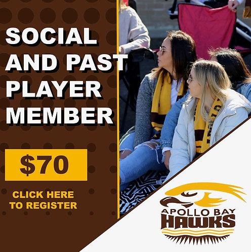 2020 SOCIAL & PAST PLAYER MEMBERSHIP