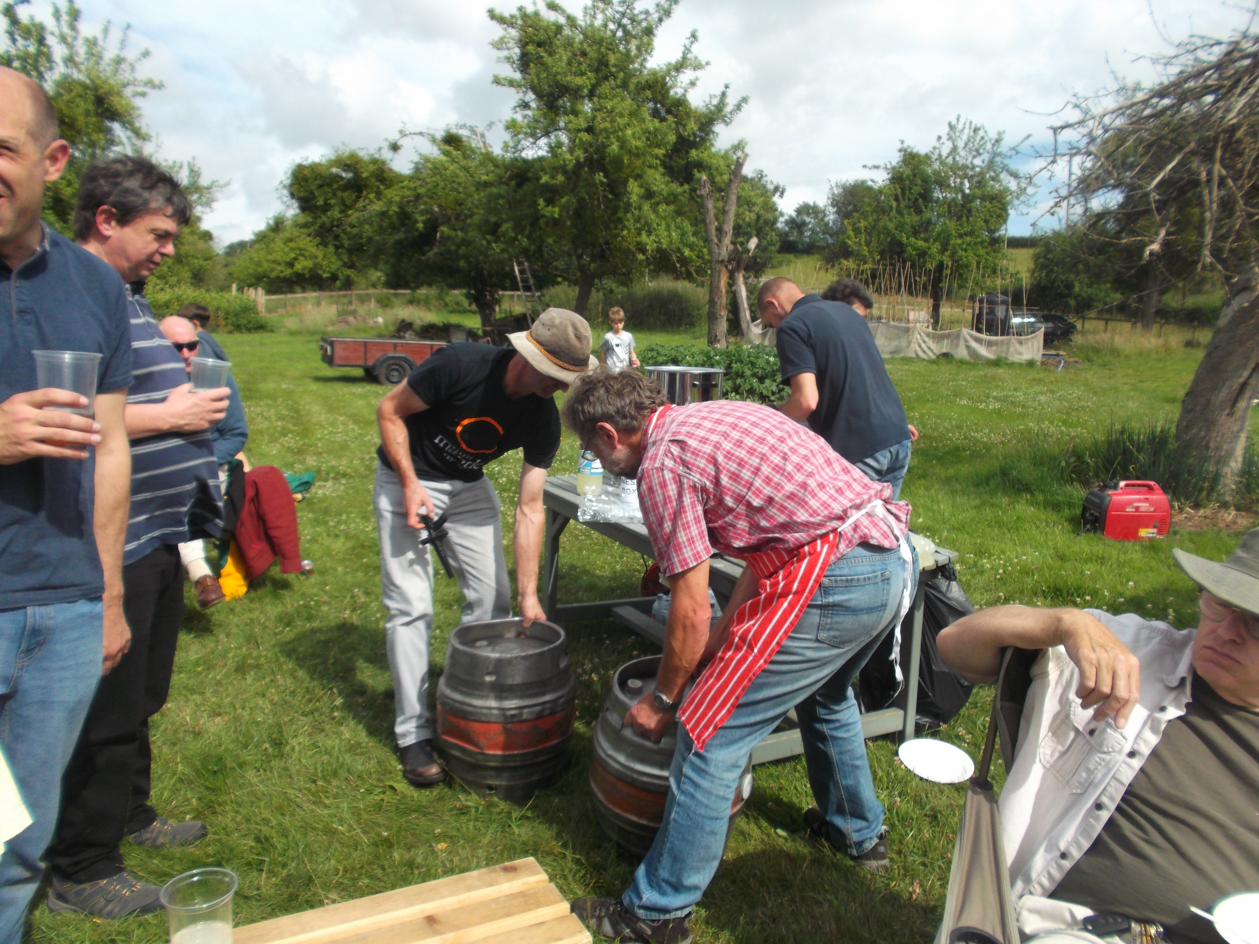 Changing of the barrels!