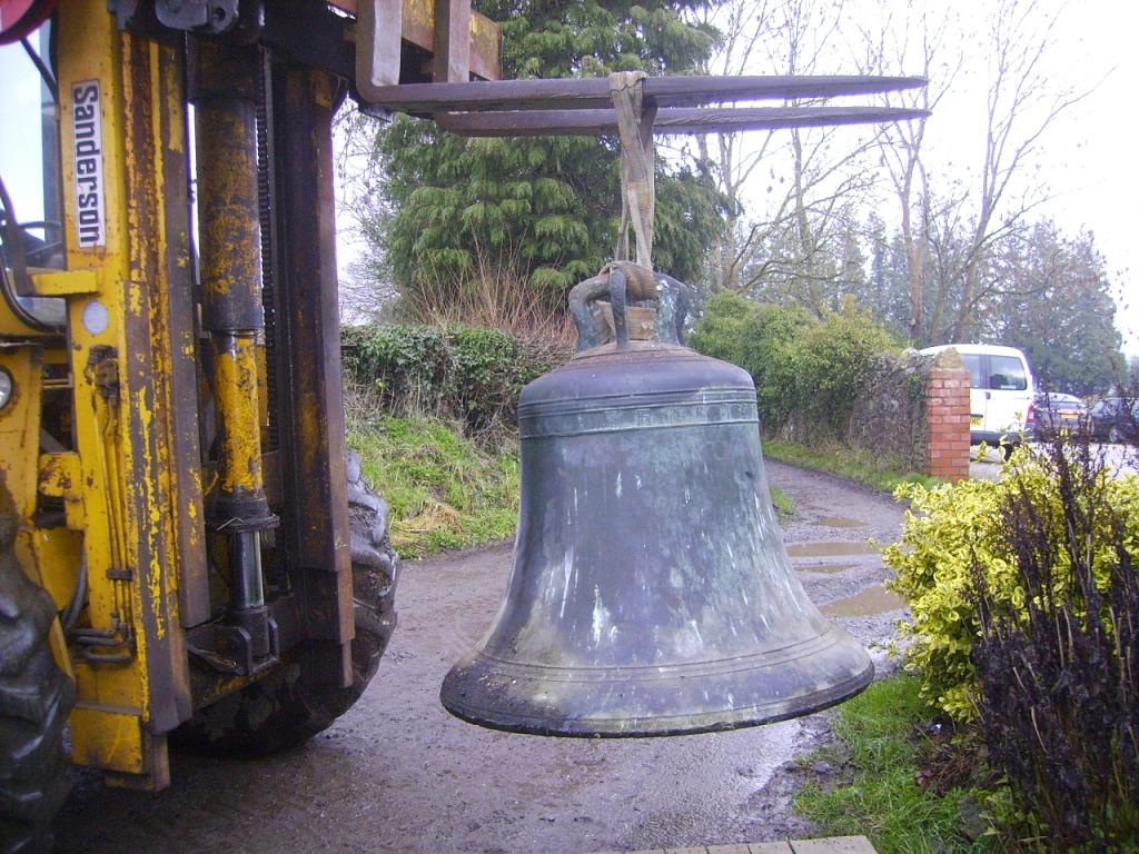 The 4th Bell being loaded