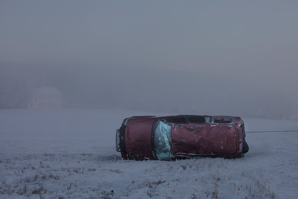 Janne Svit Car crash winter