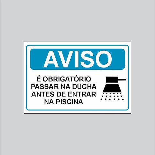 Placa Aviso