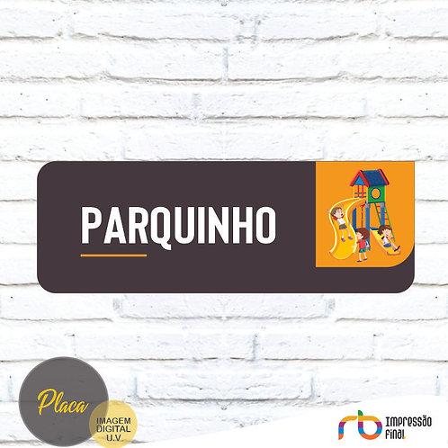 Placas Parquinho