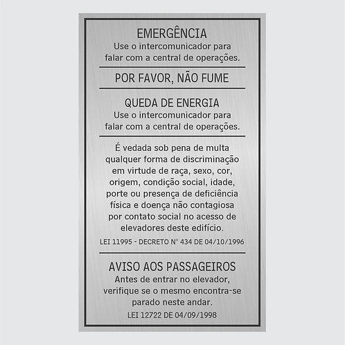 Placas Elevador