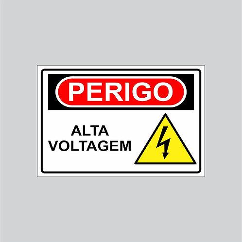 Placas de Perigo