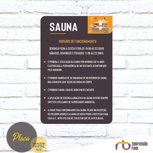 Placas Sauna