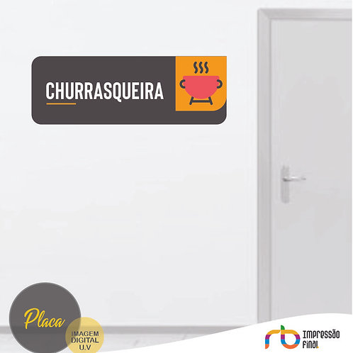 Placas Churrasqueira
