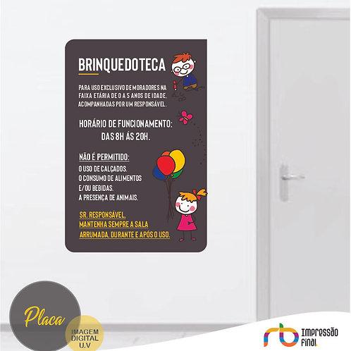 Placas Brinquedoteca
