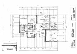 Plans - Buckner Residence - 1989 - Mississippi