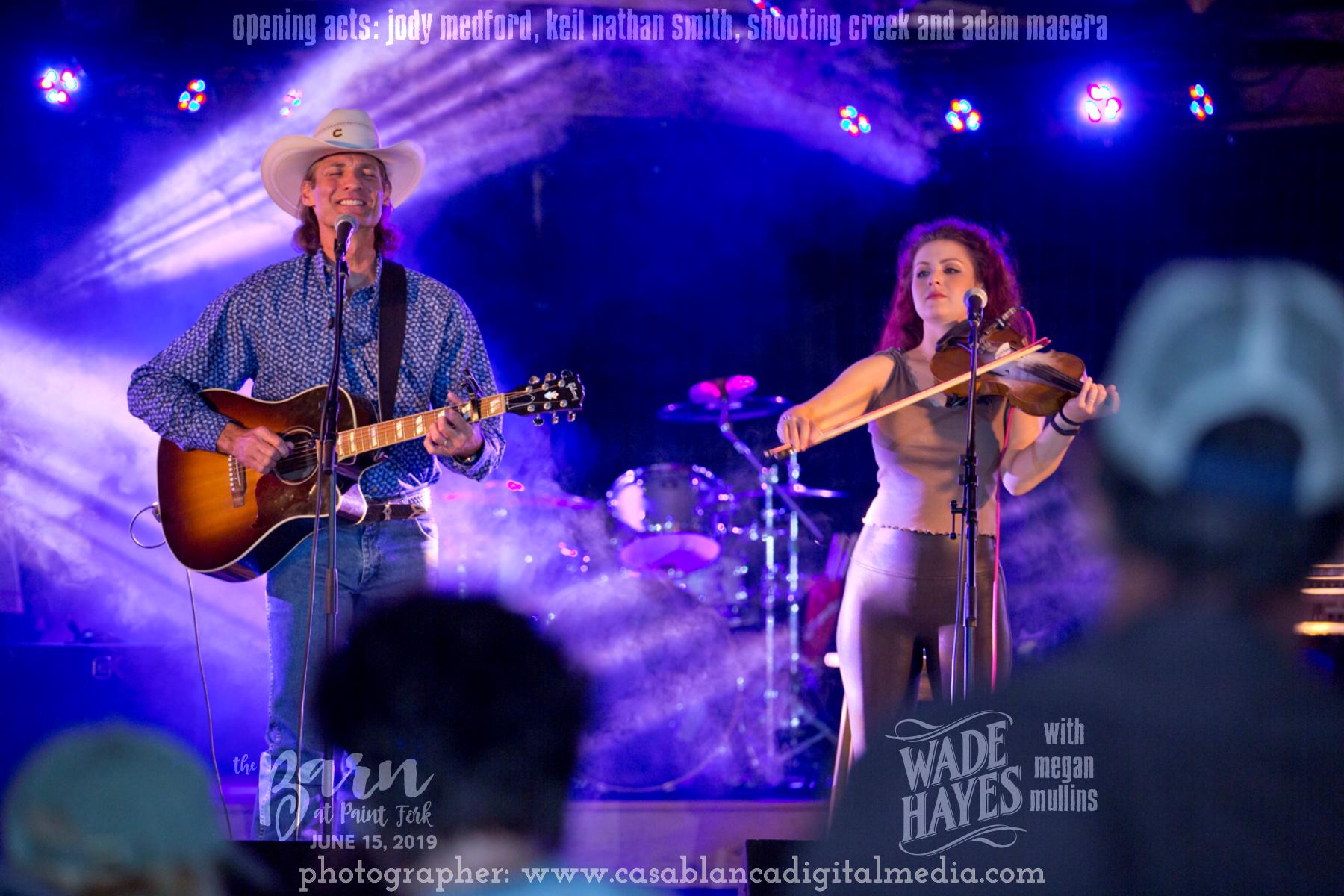 Wade Hayes and Megan Mullins