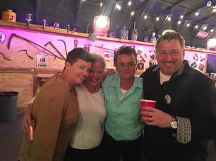Deb, Cynthia, Rhonda ad Kevin