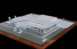 Library Concept - final model - 1990