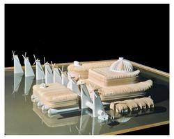 Environment-1 - paper/balsa model - 1990 (w Darren Vickery)