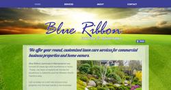 Lawn care service website