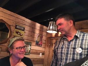 Doug Clark and Susan Shaw Penland....