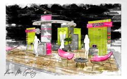 Purr Exhibit Booth Concept