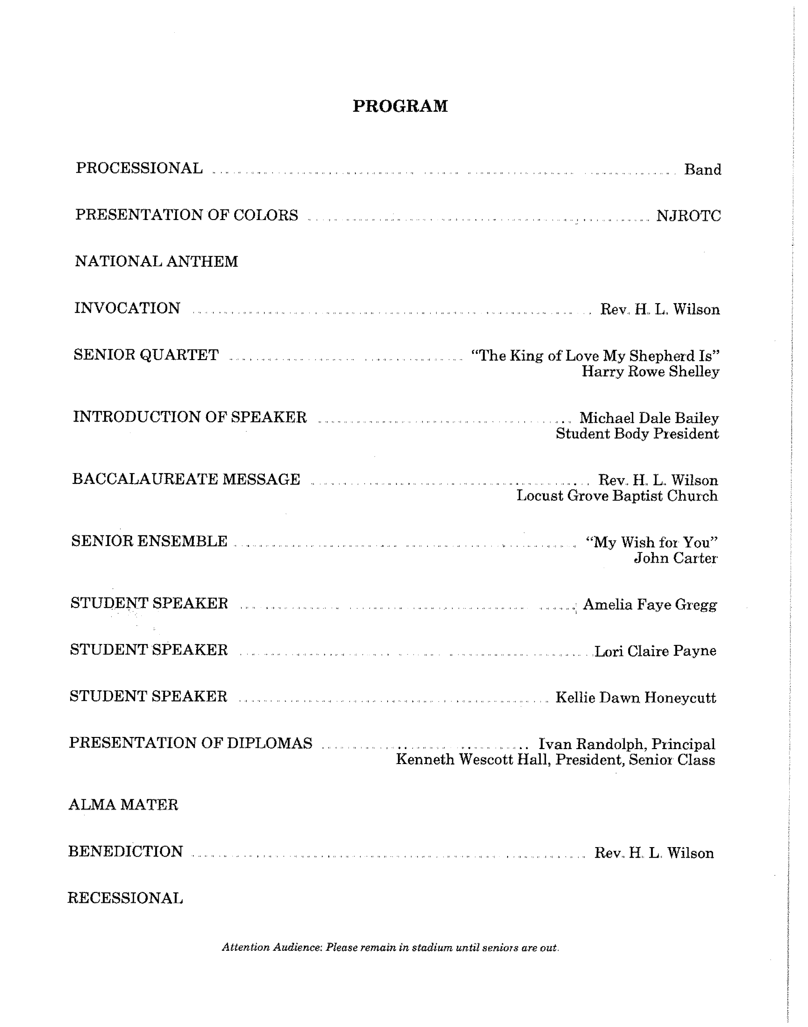 NBHS Class of 87 Comm Program (p2)