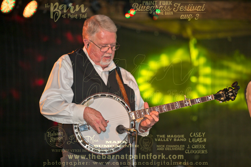 Marc Pruett / Balsam Range at the First Annual Paint Fork Bluegrass Festival at The Barn