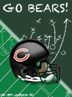 Chicago Bears sketch