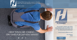 Flooring company website