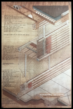 Isometric Wall Section - 1989