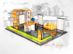Netrix Exhibit Booth Concept