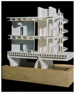Environment O1 - paper model - 1990 (w Darren Vickery)