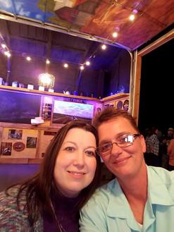 Pam and Rhonda